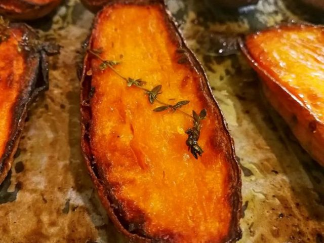 Oh glorious sweet potatoes! Photo by: Tal Adin